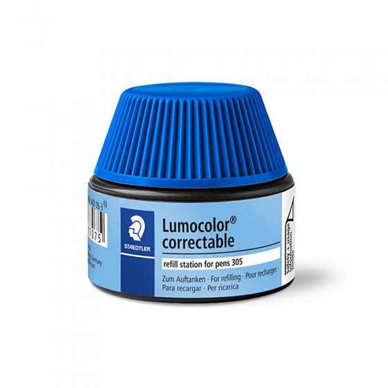 Flacon recharge pour marqueurs bleus