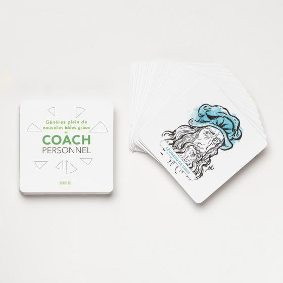 Jeu de cartes du coach personnel